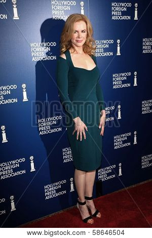 Nicole Kidman at the Hollywood Foreign Press Association's 2013 Installation Luncheon, Beverly Hilton, Beverly Hills, CA 08-13-13