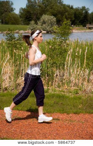 Mujer para correr
