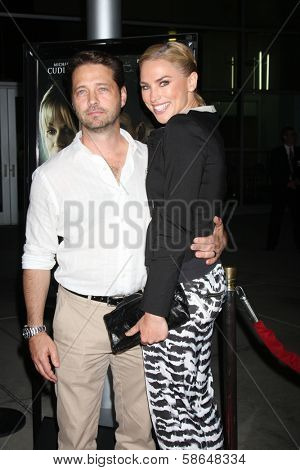 Jason Priestley and Naomi Lowde-Priestley at the