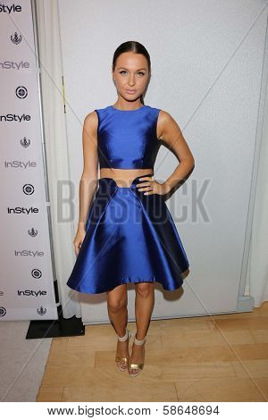 Camilla Luddington at the 12th Annual InStyle Summer Soiree, Mondrian, West Hollywood, CA 08-14-13