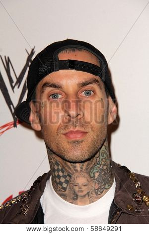 Travis Barker at Superstars for Hope honoring Make-A-Wish, Beverly Hills Hotel, Beverly Hills, CA 08-15-13