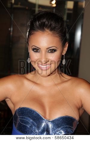 Francia Raisa at the 28th Annual Imagen Awards, Beverly Hilton, Beverly Hills, CA 08-16-13