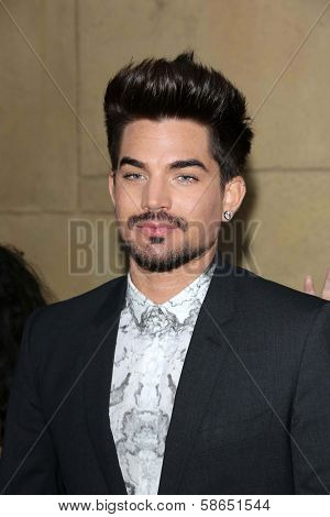 Adam Lambert at the