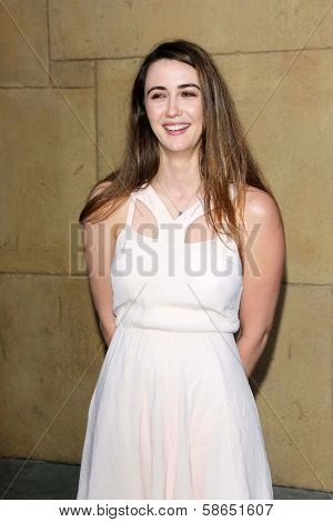 Madeline Zima at the