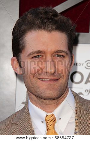 Matthew Morrison at the Comedy Central Roast Of James Franco, Culver Studios, Culver City, CA 08-25-13