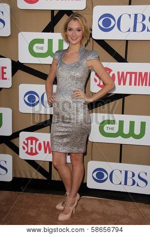 Caitlin Fitzgerald at the CBS, Showtime, CW 2013 TCA Summer Stars Party, Beverly Hilton Hotel, Beverly Hills, CA 07-29-13