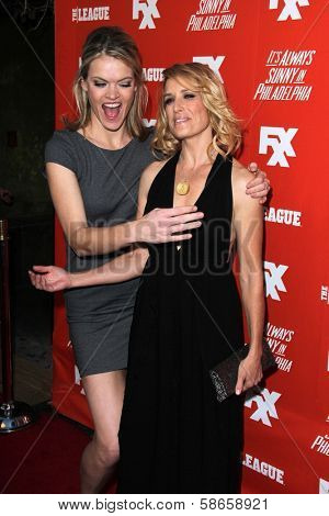 Missi Pyle, Shawnee Smith at the FXX Network Launch Party and