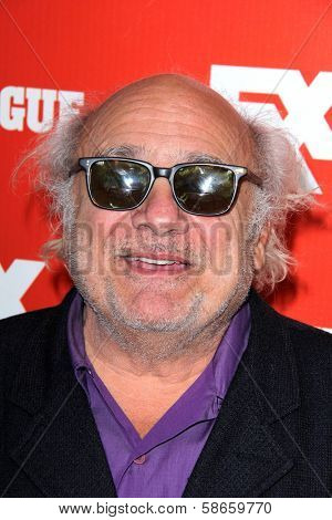 "Danny DeVito at the FXX Network Launch Party and ""It's Always Sunny in Philadelphia"" Season 9 and ""The League"" Season 5 Premiere, Lure, Hollywood, CA 09-03-13"