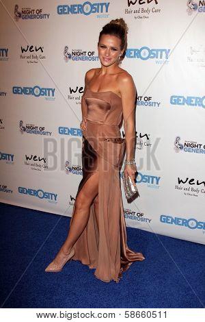 Shantel VanSanten at the 5th Annual Night of Generosity, Beverly Hills Hotel, Beverly Hills, CA 09-06-13