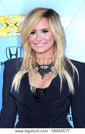 Demi Lovato at the
