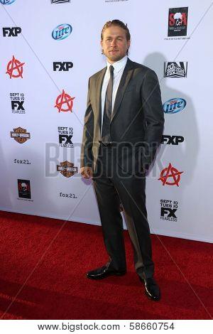 Charlie Hunnam at the