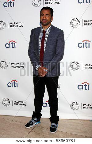 Kal Penn at the PaleyFest Previews:  Fall TV CBS -
