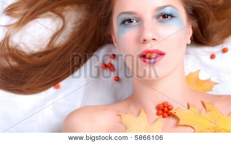 Woman And Ashberry