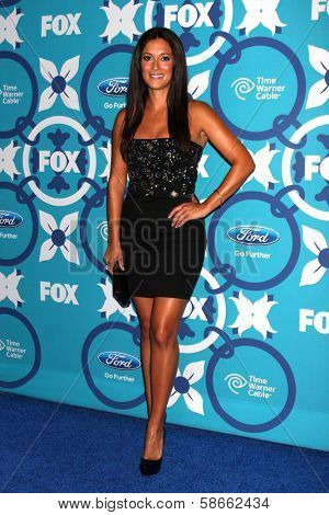 Angelique Cabral at the 2013 FOX Fall Eco-Casino Party, The Bungalow, Santa Monica, CA 09-09-13