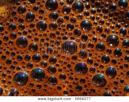 Coffee Froth Bubbles
