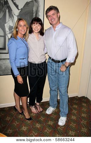 Erin Murphy, Bryce Dallas Howard and Harlan Boll at the Hollywood Networking Breakfast, Raleigh Studios, Hollywood, CA 09-14-13