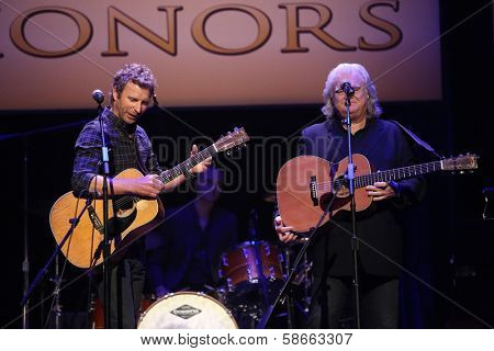Dierks Bentley and Ricky Scaggs at the 7th Annual ACM Honors, Ryman Auditorium, Nashville, TN 09-10-13