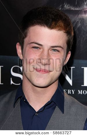 Dylan Minnette at the