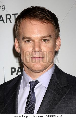 Michael C. Hall at the PaleyFest Fall Previews:  Fall Farwell -