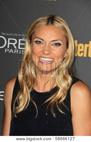 Spencer Grammer at the 2013 Entertainment Weekly Pre-Emmy Party, Fig& Olive, Los Angeles, CA 09-20-13