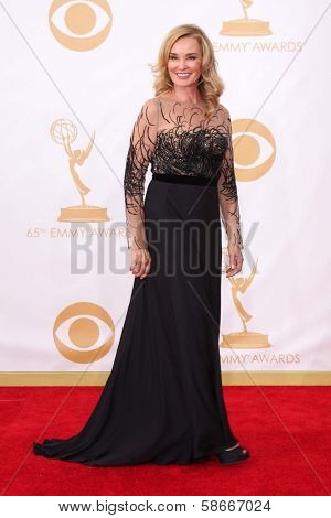 Jessica Lange at the 65th Annual Primetime Emmy Awards Arrivals, Nokia Theater, Los Angeles, CA 09-22-13
