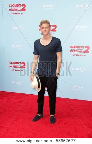 Cody Simpson at the