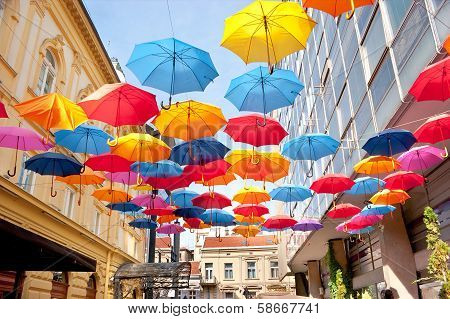 Colorfull Umbrellas