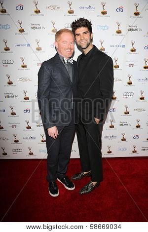 Jesse Tyler Ferguson and Justin Mikita at the 65th Annual Emmy Awards Performers Nominee Reception, Pacific Design Center, West Hollywood, CA 09-20-13