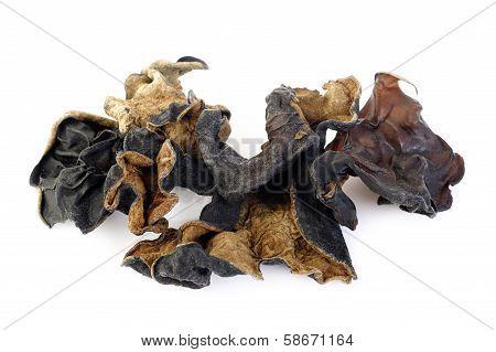 Dried Black Fungus (jew's Ear Mushroom )