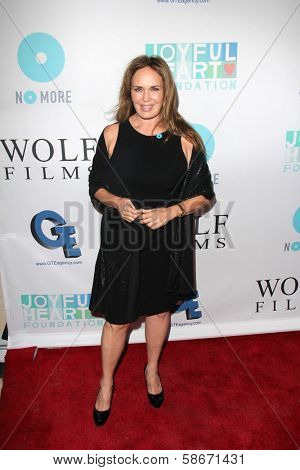 Catherine Bach at the Joyful Heart Foundation celebrates the No More PSA Launch, Milk Studios, Los Angeles, CA 09-26-13