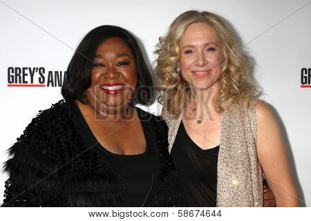 Shonda Rhime and Betsy Beers at the