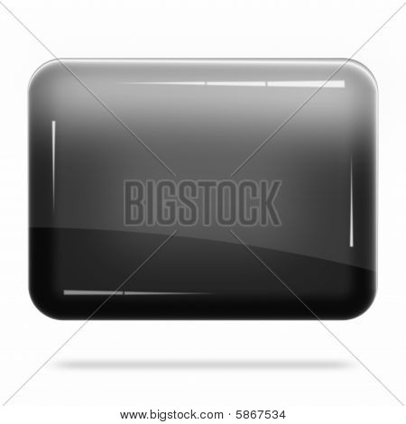 Blank Black Board Float