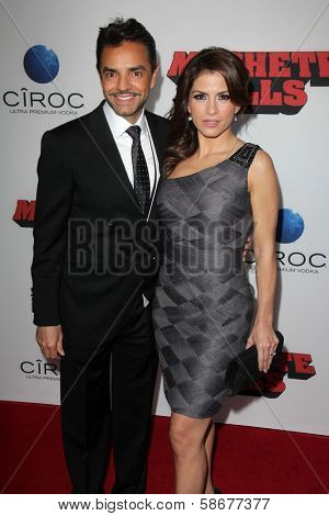 Eugenio Derbez and Alessandra Rosaldo at the