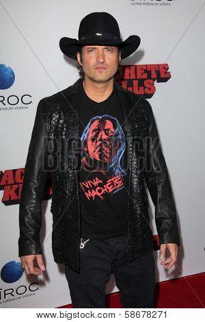 Robert Rodriguez at the