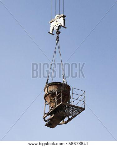 Crane Equipment Tank For Cement Lifting
