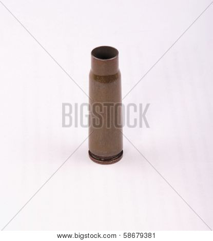 Kalashnikov Gun Shell Isolated