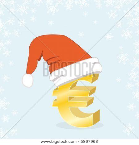 Christmas Shopping Euro Santa Cap