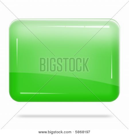 Blank Green Board Float