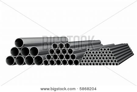 Tubes Isolated On White