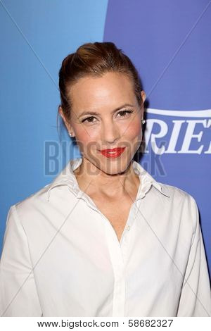 Maria Bello at Varoety's 5th Annual Power of Women, Beverly Wilshire, Beverly Hills, CA 10-04-13