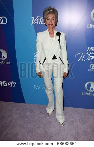 Rita Moreno at Variety's 5th Annual Power of Women, Beverly Wilshire, Beverly Hills, CA 10-04-13