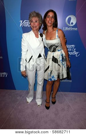 Rita Moreno and Ana Ortiz at Variety's 5th Annual Power of Women, Beverly Wilshire, Beverly Hills, CA 10-04-13