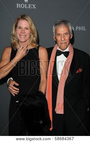 Burt Bacharach and Jane Hanson at the Walt Disney Concert Hall 10th Anniversary Celebration, Walt Disney Concert Hall, Los Angeles, CA 09-30-13