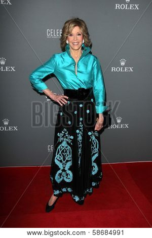 Jane Fonda at the Walt Disney Concert Hall 10th Anniversary Celebration, Walt Disney Concert Hall, Los Angeles, CA 09-30-13