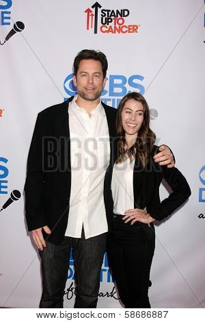 Michael Muhney and Jaime Garrison at the CBS Daytime After Dark Event, Comedy Store, West Hollywood, CA 10-08-13