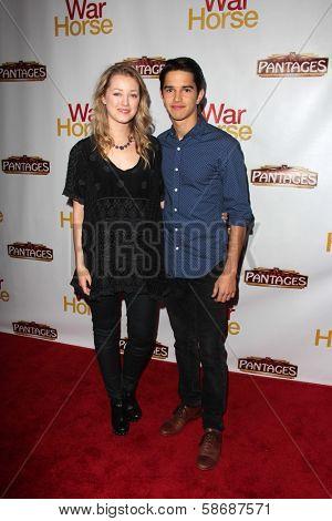 Joseph Haro and Ella Rae Peck at the