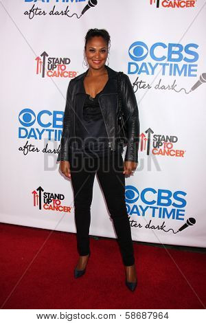 Lalia Ali at the CBS Daytime After Dark Event, Comedy Store, West Hollywood, CA 10-08-13