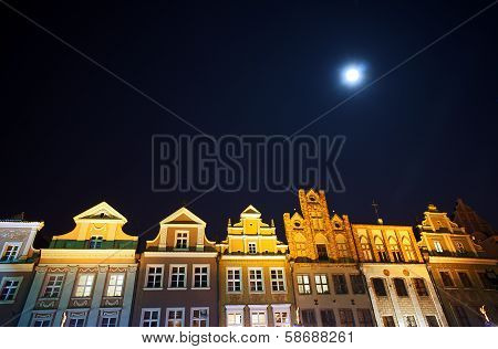 Houses on the market and the moon