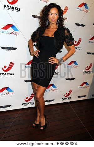 Sofia Milos at the Philhellenes Gala, Skybar, West Hollywood, CA 10-09-13
