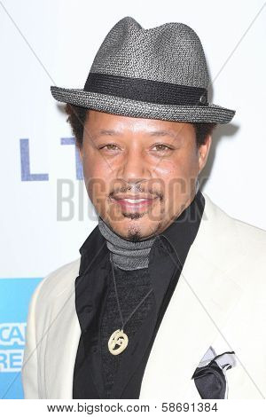 Terrence Howard at Hugh Jackman